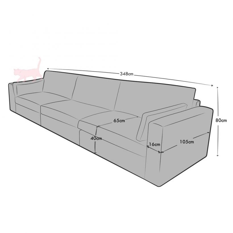 4 Seat (3 part)